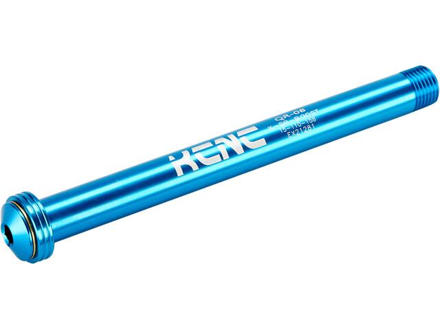 KCNC KQR08-SR Eje Pasante 15x110mm RS Maxle, azul